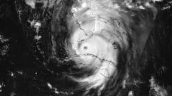 Así se vio Irma desde el