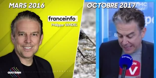Philippe Vandel reprend mot pour mot ses vieilles chroniques de Franceinfo chez Europe 1