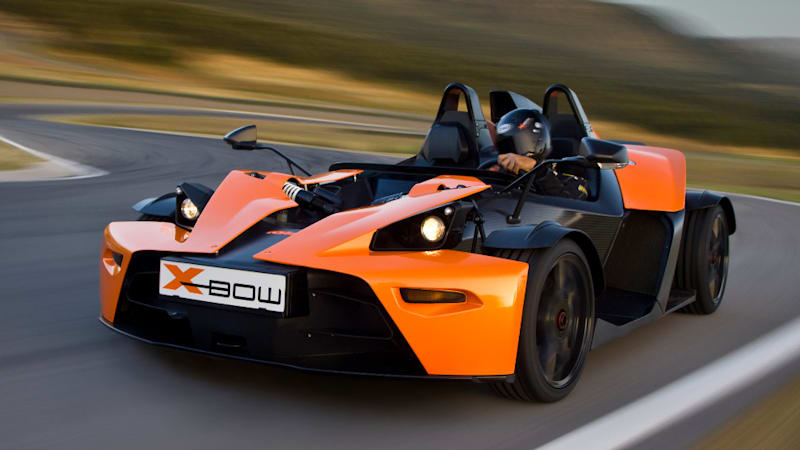 KTM X-Bow to be sold in the U.S. but won't be legal for public roads ...