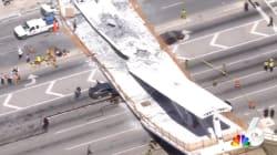 L'effondrement d'un pont au-dessus d'une autoroute fait au moins 4 morts à