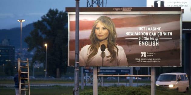 Melania Trump ha fatto rimuovere la pubblicità della scuola d