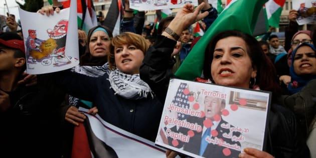 Gerusalemme, palestinesi in sciopero