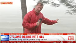Cyclone Debbie: 'Everyone Stay Inside Except For Reporters Doing Live