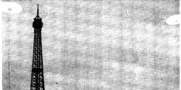 La France aussi enquête sur les ovnis depuis 40 ans (photo: une photo déclassifiée de la CIA)