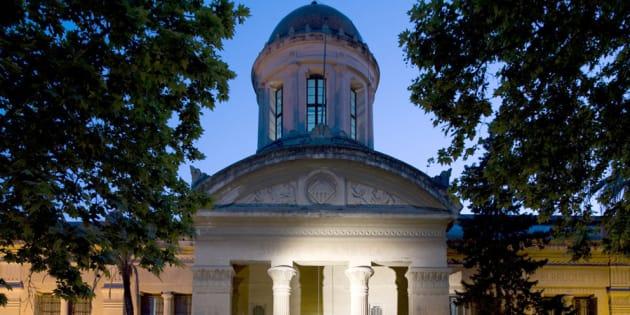 La fachada de la Biblioteca-Museo Víctor Balaguer.