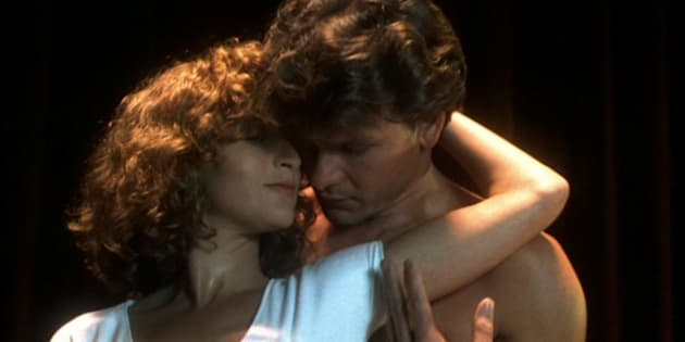 Patrick Swayze y Jennifer Grey, protagonistas de 'Dirty Dancing'.