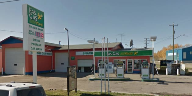 """A """"gas and dash"""" at a station in Thorsby, Alta. turned deadly on Friday."""