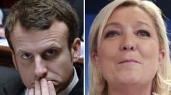 La configuration où Emmanuel Macron devance Marine Le Pen à la