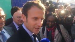 Macron chahuté par des profs lors de son premier déplacement de
