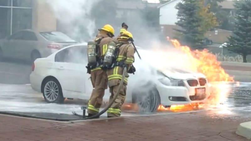 Abc News Says Parked Bmws Catching Fire Bmw Calls Report Sensationalistic Autoblog