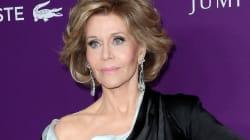 Jane Fonda sublime sur le tapis rouge à 79