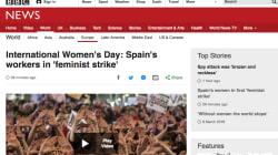 La huelga española del 8-M, en los principales medios internacionales: 'New York Times', CNN, 'The