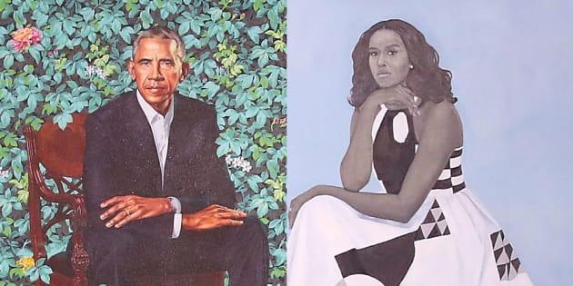Barack et Michelle Obama dévoilent leur portrait officiel, engagé et moderne