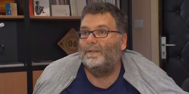 """""""Je ne suis pas un héros"""" confie Hervé Pizinat, le proviseur du lycée Tocqueville à Grasse"""