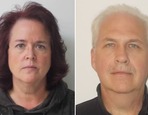 Couple accused of locking girl in room with alarm