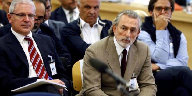 Francisco Correa en el banquillo.