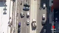 Les images de la panique à Melbourne, où une voiture a fauché des