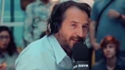Edouard Baer conclut sa dernière matinale sur Radio Nova par une ultime envolée