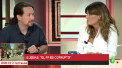 El gesto de Pablo Iglesias que ha indignado a una periodista en 'Al Rojo Vivo' por