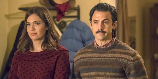 Jack e Rebecca, o casal protagonista de uma das séries americanas mais populares dos últimos tempos.