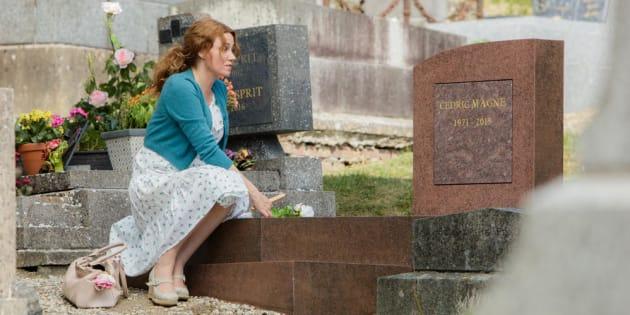 """Comment Marine Delterme s'est retrouvée à jouer un personnage à l'opposé d'Alice Nevers dans """"Le mec de la tombe d'à côté"""""""