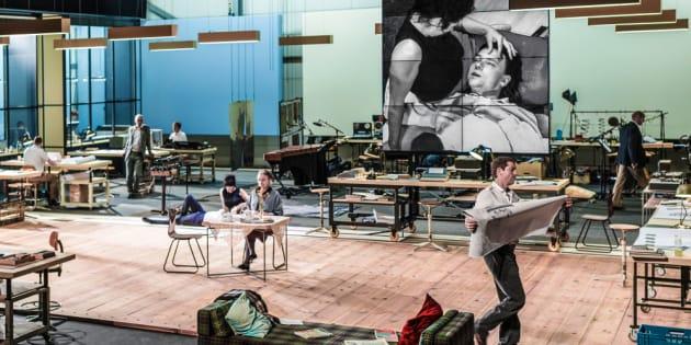 The Foutainhead, d'Ayn Rand par Ivo van Hove au Théâtre de L'Odéon