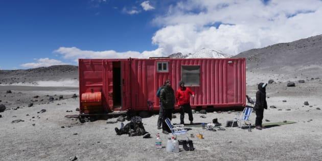 Voilà à quoi ressemblent deux semaines de simulation de vie sur mars en plein désert au Chili.