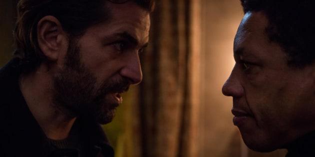 """Gregory Fitoussi et JoeyStarr s'affrontent dans """"La Main du mal""""."""