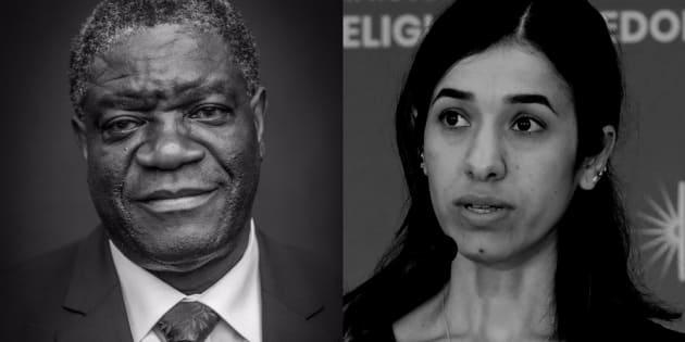 Le prix Nobel de la paix 2018 décerné à Denis Mukwege et Nadia Murad