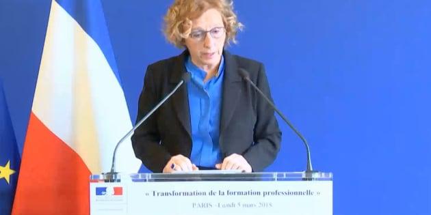 """Formation professionnelle: les principales mesures du """"big bang"""" promis par Muriel Pénicaud"""