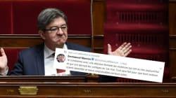 Mélenchon déterre ce tweet de Macron sur les violences du 1er