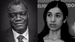 Le prix Nobel de la paix 2018 décerné à Denis Mukwege et Nadia