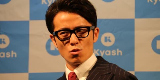 イベントに登壇したオリエンタルラジオの藤森慎吾さん