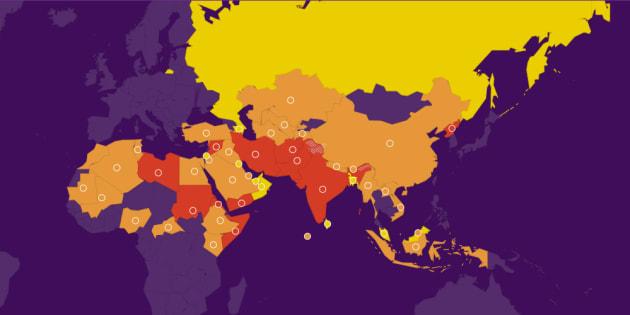 L'ONG Portes ouvertes a dévoilé son index mondial de la persécution des Chrétiens pour l'année 2018.