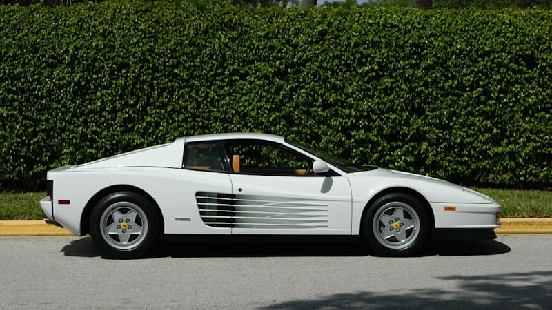 The Real Wolf Of Wall Streets Ferrari Testarossa Is For Sale - The wolf of wall streets ferrari is now up for sale