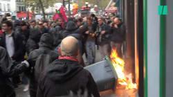 80.000 personnes dans les rues contre la politique de Macron, des débordements en marge des
