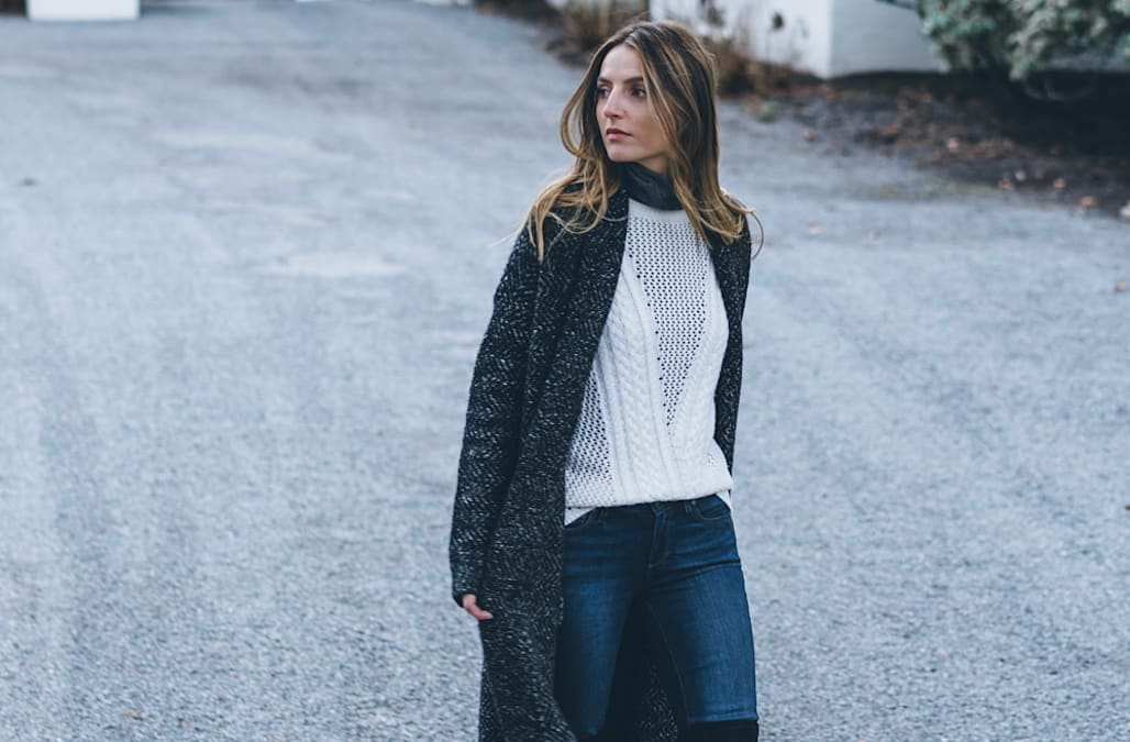 7cc3f43c69cd Street style tip of the day  Fair isle sweater - AOL Lifestyle
