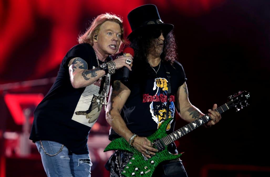 Guns N' Roses Sues Brewery Over Guns 'N' Rosé Ale