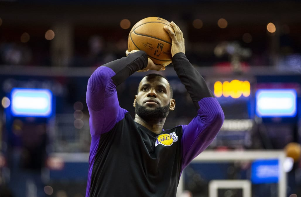 4f033e84be1 The key to the Los Angeles Lakers  success falls on the shoulders of No.  23. LeBron James and the rest of the basketball world know it.