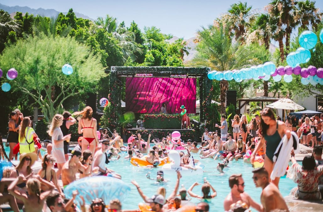 Amazing Splash House Is A Multi Venue Pool Party That Occurs Twice Every Summer In  Palm Springs, California, At A Rotating Collection Of Hotel Resorts In The  ...