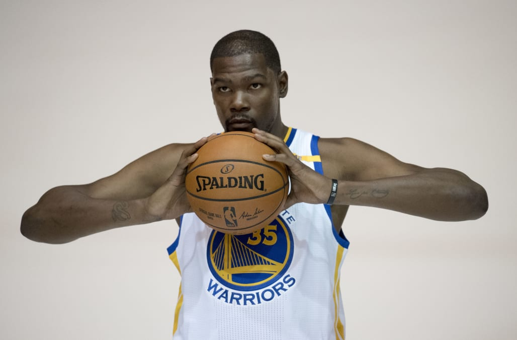 4695b229f2db Kevin Durant explained why he was  glad  the Warriors blew a 3-1 lead in  the NBA Finals. Business Insider