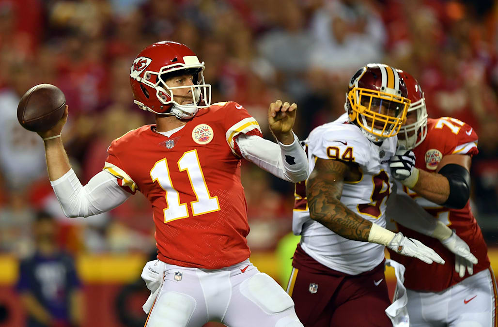 Hours after quarterback Alex Smith said he hoped to remain in Kansas City 135ce094e