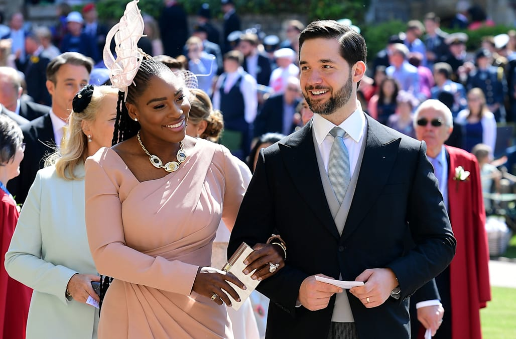 Serena Williams Wore Sneakers To The Royal Wedding Reception Aol