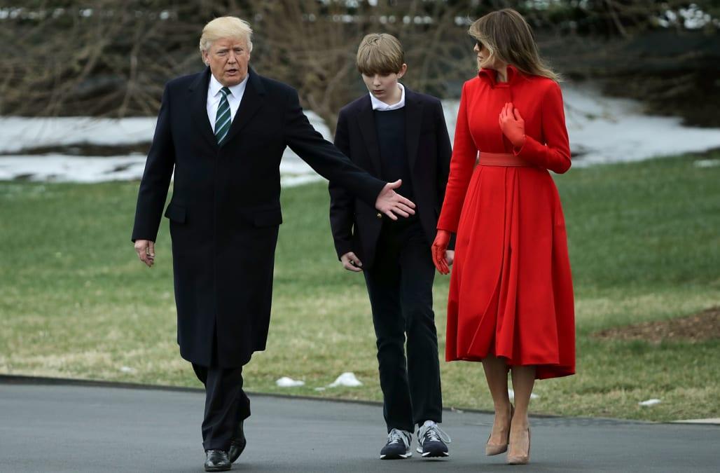 Melania Trump Barron Trump Moving To White House In June