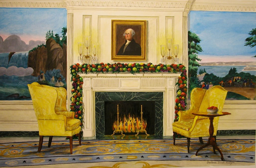 Decades of presidential Christmas cards reveal spirit of White House ...