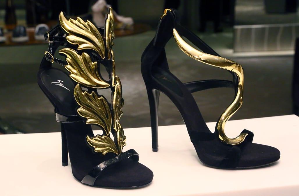 Saks Shoe Department New York