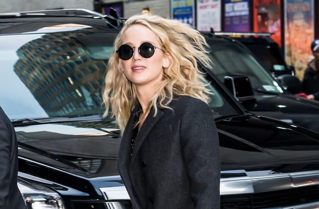 Jennifer Lawrence Holds Onto Rumored Boyfriend Cooke Maroney