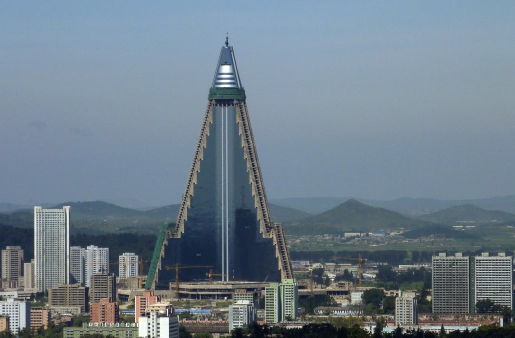 North Korea S Ryugyong Hotel May Be Getting A New Lease On Life And Finally Open
