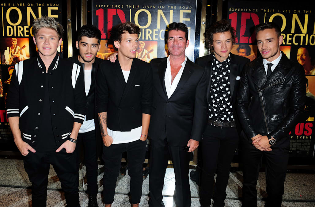 Simon Cowell feels like a father figure to a certain One
