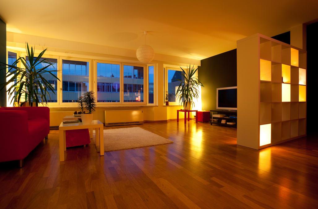 Wohnzimmerdecken